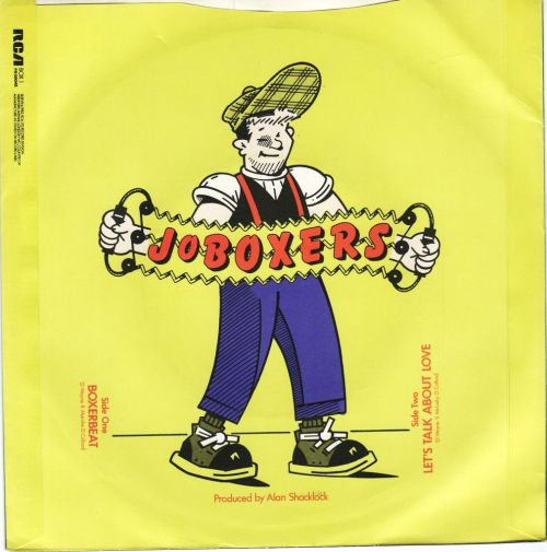 JoBOXERS - Boxerbeat, RCA, 1983 bop to it (flicking through my singles)