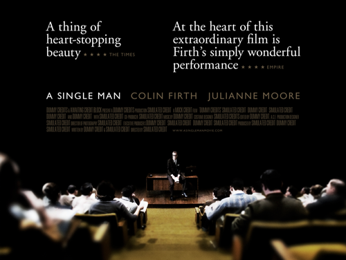 A Single Man | Rejected This was also not the film poster for A Single Man (Image c/o Thomas Brooks)