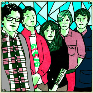 Twin Sister: Crashing Under Dim Streetlights (Daytrotter Session)  Twin Sister makes us feel, in no way, as if we're stuck in a moment, but  actually collaborating with a moment, seeing it slowed down and better  able to grab, like a fat fish in shallow waters.