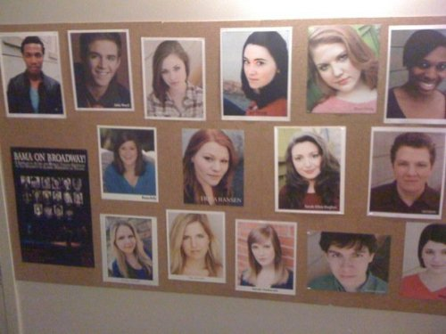 can you pick out my headshots on the board? someone on facebook posted this as their profile picture. it makes me excited to see my clients using their shots!