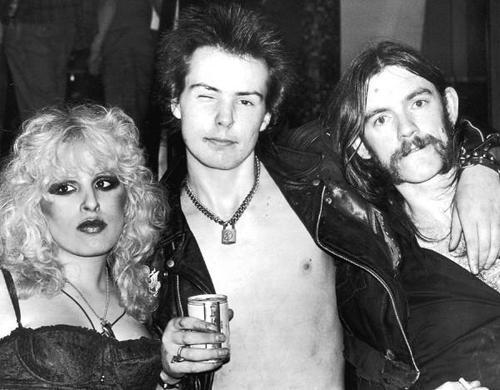 Nancy, Sid and Lemmy