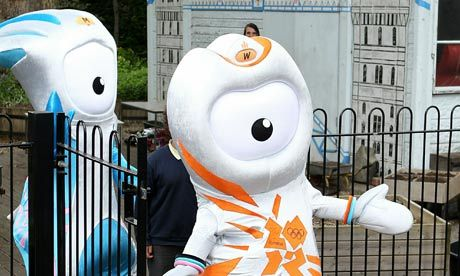 These are the new Olympic mascots. One of them is named after Stoke Mandeville. This is generally where family members of mine have died. It's a good thing these mascots that probably cost millions to make are usually pretty anonymous or that would be annoying/miserable.