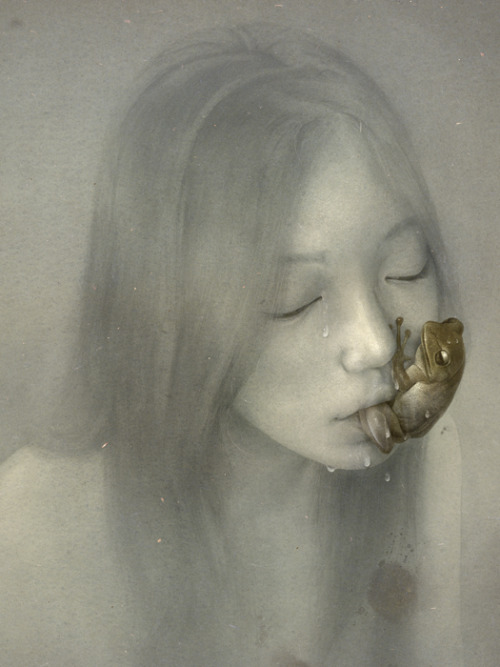 liquidnight:  Sam Weber Absinthe Drinker, 2009