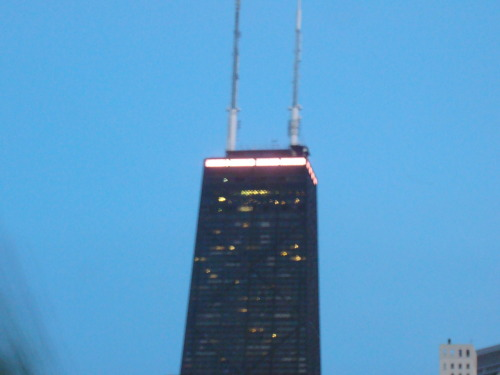 John Hancock Pink Lights