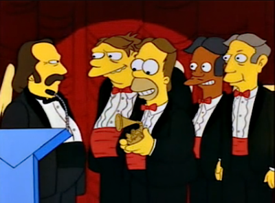Barney: David Crosby? You're my hero!David Crosby: Oh, you like my music?Barney: You're a musician?  - S05E01, Homer's Barbershop Quartet