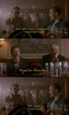 fuckyeahsubtitles:  Trainspotting (1996) (via movieoftheday)
