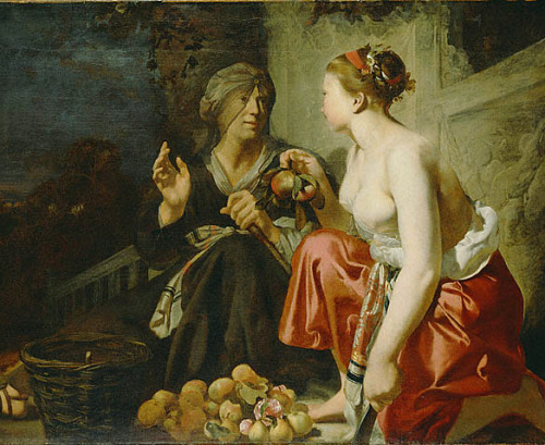 Cesar van Everdingham Vertumnus and Pomona 1650