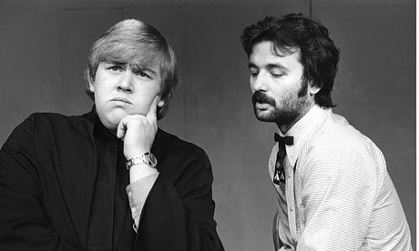 John Candy + Bill Murray, 1973.