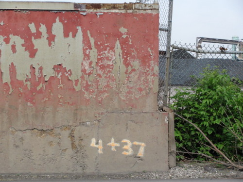 Forgotten #15 - my favourite shot of the Dofasco steel wall.
