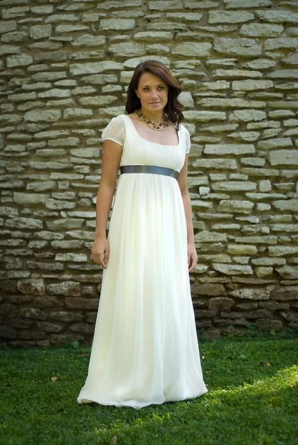 Jane Eco Friendly Wedding Dress Made to Order by threadhead
