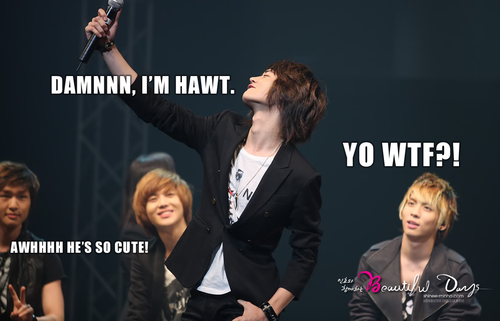 Obviously, JongHyun Doesn't Agree With You MinHo. { posted by fuckyeahkpopmacros@tumblr.com }