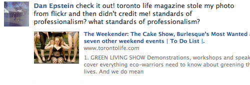 Toronto Life is unfamiliar with your lower-middle-class values.