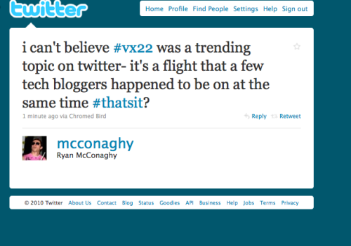 vx22:When was it a trending topic? Screen caps or it didn