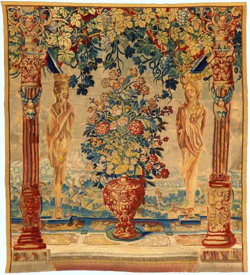Unknown (Flemish) Portico Tapestry Mid-16th century