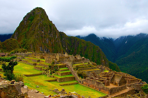Ruins at Machu Picchu, Peru by miguelyn