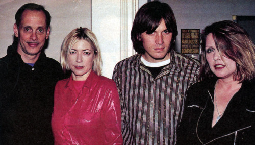 John Waters, Kim Gordon, Evan Dando & Debbie Harry, Rolling Stone, 1995.