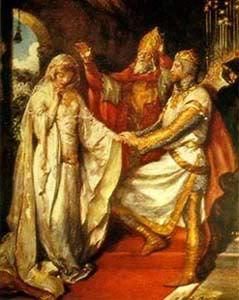 Whitsun is a prominent festival in Arthurian legend.  Arthur and Guinevere were married on Whitsun and Lancelot arrived in Camelot on Whitsun.  Legend also has Arthur holding a feast for his knights and setting a quest at the end of the feast day, each year.