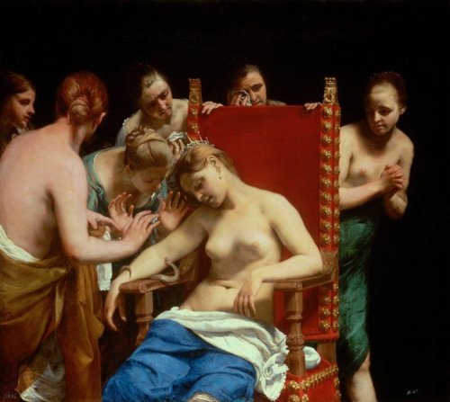 Guido Cagnacci-Death of Cleopatra