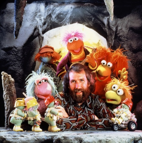 Jim Henson + Fraggle Rock, 1983.