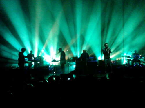 Massive Attack at The Wiltern. Lili Peper (NOTE: SORRY THE QUALITY IS AWFUL, THESE ARE BLACKBERRY IMAGES!)