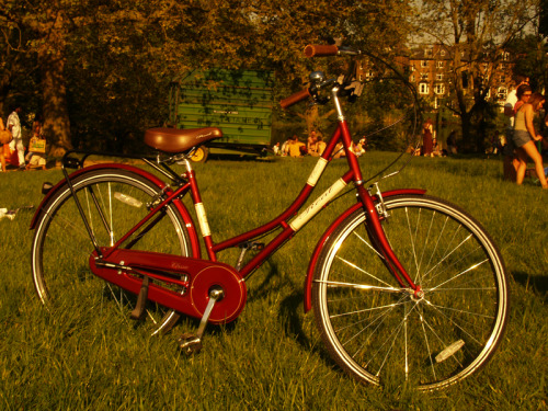 phertales:  Classic vintage bicycle (London, United Kingdom)