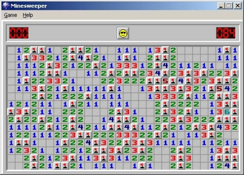 Minesweeper  (via hambaga: errorerrorslash: blogsaurus.files.wordpress.com)