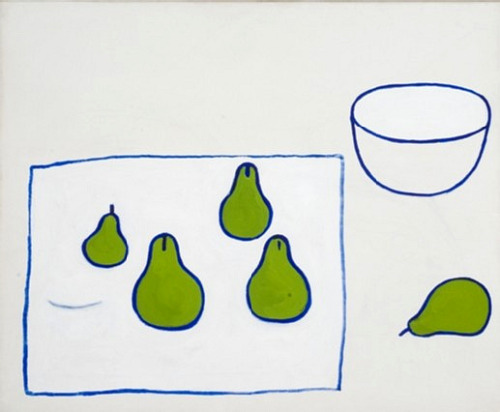 William Scott Five Pears 1976