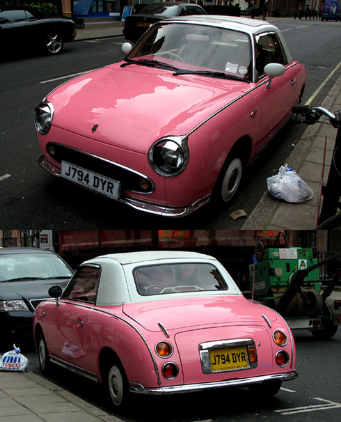 Nissan Figaro - my dream car <3