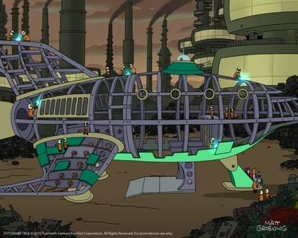 Countdown to Futurama: Dismantled Ship | Comedy Central Insider | Funny, TV and Comedy Blog