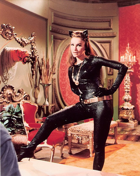 Julie Newmar as Catwoman via fuckyeahgothamgirls