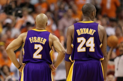 1996-2011. Fisher, Kobe. 7 Finals appearances. 5 Championships.  Next: 6 Rings. 3Peat. Legend status.   Go Lakers!
