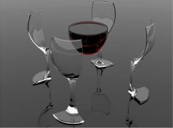 m2atk:  Digital art: Cup of wine. #photography #design #digitalart #finearts