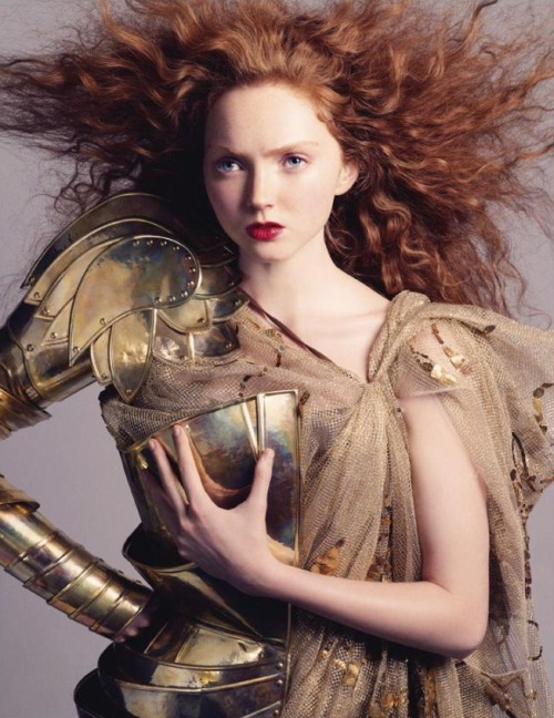 maghali:  bloodmilk:  thedoppelganger:  Lily Cole by Andreas Sjödin in Vogue Nippon January 2007 (via spinningbirdkick)