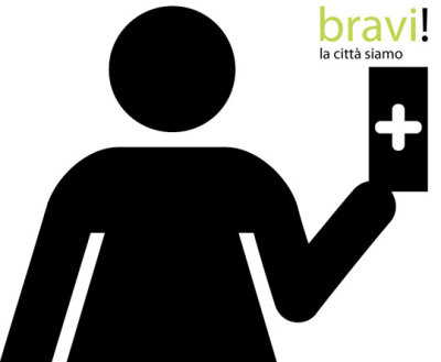 thepublics:  Cluster: Citizens shaping the city   The project 'Bravi! La città siamo noi!' is a large-scale, innovative citizen participation strategy proposed as a pilot project for the city of Torino to forge civic culture through enthusing, engaging and mobilizing responsible citizenship, and introducing a pedagogical agenda within the framework of the city government.   The central premise of our proposal is that anyone and everyone can be an agent of change. In an urban context citizens' actions on a ground level are fundamental to the overall quality of life and the general image of a city, for this reason we devised a system that provides citizens with a tool that intends to: inspire the public to engage in social change by promoting small voluntary actions; raise public awareness about the power of society; enhance the concept of citizen rights and duties; strengthen human relationships between strangers in the city's public space. DH: Intriguing project. I'm not sure if they got the system right, but it will be interesting see how this turns out.