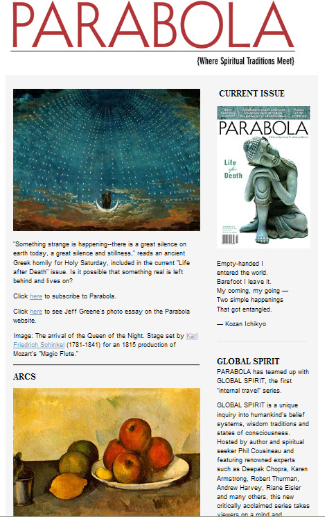 Subscribe to Parabola's free weekly newsletters: http://bit.ly/aDVRpu