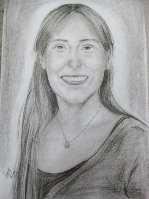 Jamie, a 15 year old girl in Piura, drew this portrait of me.  Completely unexpected and flattered.