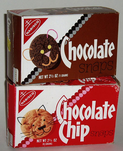 Nabisco Chocolate & Chocolate Chip Snaps (Remembered by Grace)