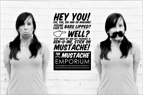 Yes. I like fake mustaches. :)