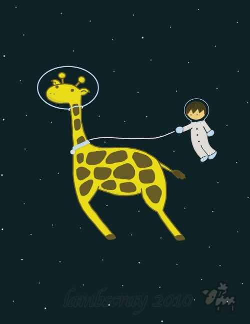 Space Giraffe!!!