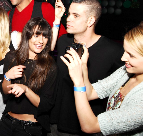 My top 3 favorite celebs. Lea Michele, Mark Salling, & Dianna Agron!