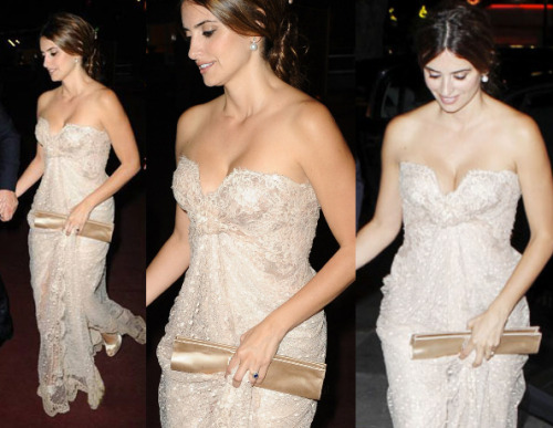 What a dress  Penelope Cruz in Elie Saab