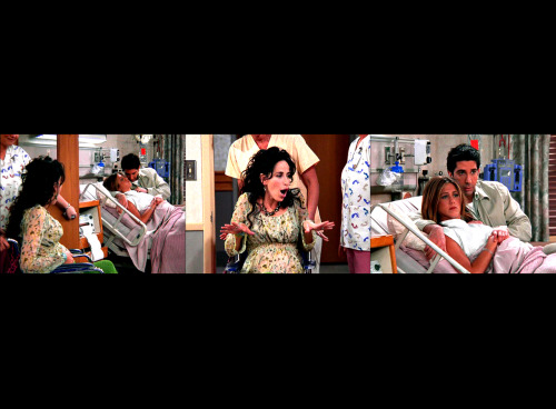 amariiie:   Janice: OH. MY. GOD.  Friends 8.23 - TOW Rachel Has A Baby.