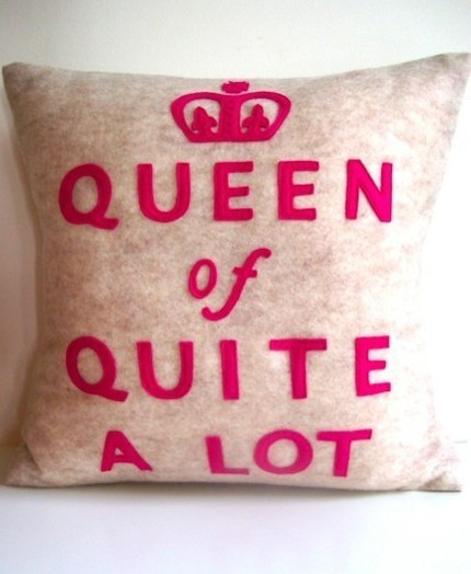 Today's theme - Pillows! I feel we need a catch up as I hardly posted at all yesterday! Well yesterday was my last day at College! I expected to feel all sad but tbh I didn't - I think that'll come on results day! So yeah I am now free! Except for the fact of having 7 exams to do… I got a white blackberry bold yesterday - So I now have two phone contracts with no income LOL! I am stupid, I know. But I get enough pennies each month to pay them both. Plus my first contract with Orange, ends in Dec so i'm just not gonna upgrade it like I usually do! What else do I have to fill you all in on? I seem to be much happier last couple of days. I know why this is but I don't wanna jinx things just yet :) So what's everyones plans for this weekend????