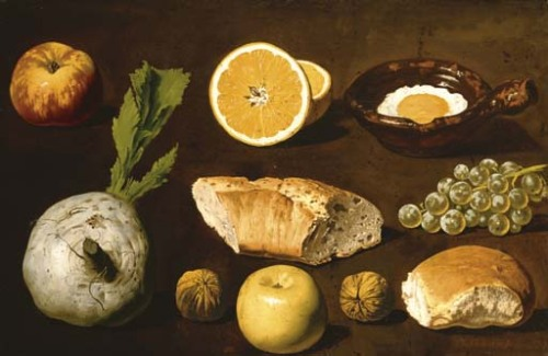Unknown (Spanish) Studies of Bread, etc. 19th century