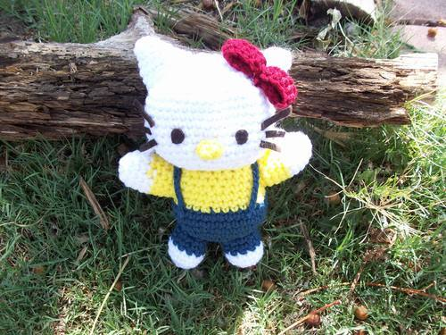 Amigurumi Human Ear Pattern : FREE Hello Kitty Crochet Patterns The Steady Hand