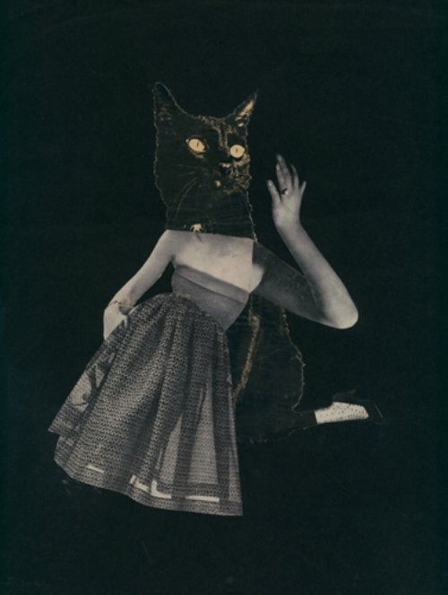 foxesinbreeches:  frenchtwist:  Mask by Toshiko Okanoue, 1952