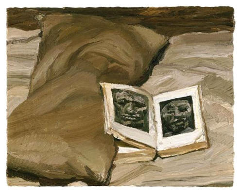 Lucian Freud Still Life with Book 1991