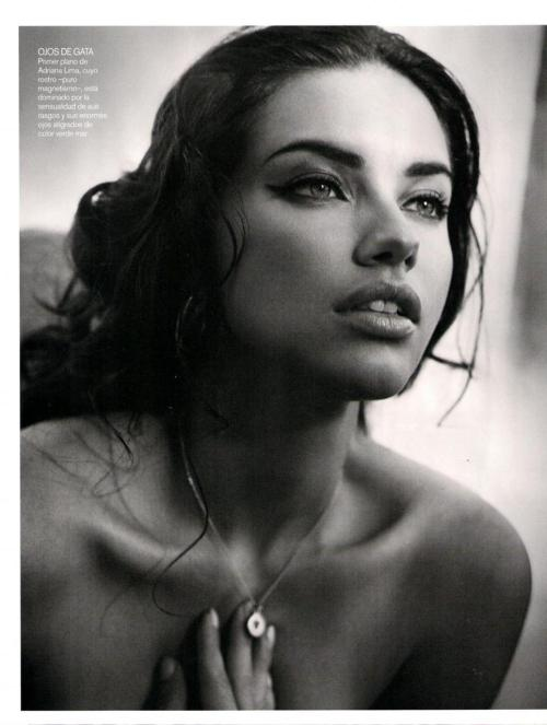 Adriana Lima. She isn't real, is she?
