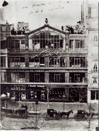 kvetchlandia:  Studio of Nadar at 35 Boulevard Des Capucines, Paris      c.1855