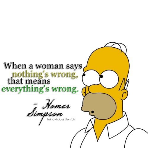 There's actually some sense and truth in this quote. Nice one Homer! :)